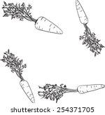 carrots | Shutterstock .eps vector #254371705