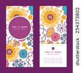 vector colorful oriental... | Shutterstock .eps vector #254373802