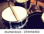drums conceptual image. picture ... | Shutterstock . vector #254446402