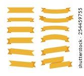 ribbon icons | Shutterstock .eps vector #254459755