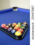 pool balls on table | Shutterstock . vector #25447087