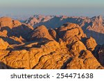 view from mount sinai at dawn ... | Shutterstock . vector #254471638
