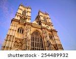 Westminster Abbey In London  Uk