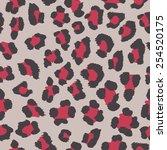 leopard pattern | Shutterstock .eps vector #254520175