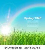 Spring Natural Background ...