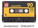 Black Music Cassette With...