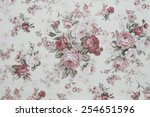 rose fabric background ... | Shutterstock . vector #254651596