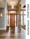 Elegant  Front Door And Entry...