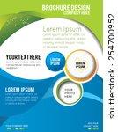 stylish presentation of... | Shutterstock .eps vector #254700952