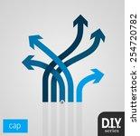 do it yourself   cap 1   easy... | Shutterstock .eps vector #254720782