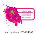 abstract floral frame | Shutterstock .eps vector #25483861