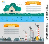 vector flat illustration of... | Shutterstock .eps vector #254859562