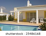 beautiful villa with pool  ... | Shutterstock . vector #25486168