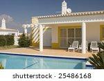 beautiful villa with pool  ... | Shutterstock . vector #25486168
