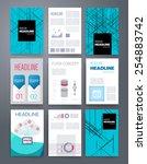 templates. design set of web ... | Shutterstock .eps vector #254883742