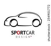 sportcar design   Shutterstock . vector #254901772
