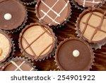 dark chocolate  | Shutterstock . vector #254901922