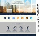 website design for your... | Shutterstock .eps vector #254905375
