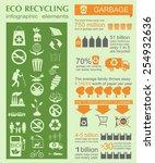 environment  ecology... | Shutterstock .eps vector #254932636