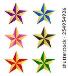 Colorful Star Clip Art...