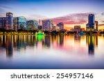 orlando  florida  usa downtown...   Shutterstock . vector #254957146