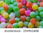 pile of gum drops | Shutterstock . vector #254961808