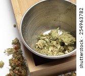 weed | Shutterstock . vector #254963782