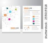 vector internet communication... | Shutterstock .eps vector #255019318