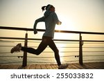 healthy lifestyle sports woman... | Shutterstock . vector #255033832