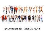 people diversity together we... | Shutterstock . vector #255037645