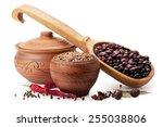 Clay Pot  Wooden Spoon  Lentil...