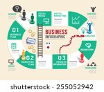 business board game concept... | Shutterstock .eps vector #255052942