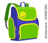 backpack | Shutterstock .eps vector #255087382
