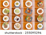 A Collection Of Thai Food And...