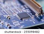 high tech circuit board | Shutterstock . vector #255098482