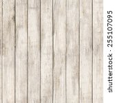 old wooden fence  seamless... | Shutterstock . vector #255107095