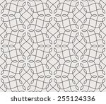 seamless linear pattern with... | Shutterstock .eps vector #255124336