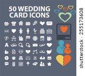 wedding  romance  love ... | Shutterstock .eps vector #255173608