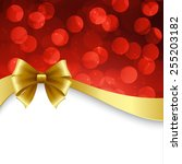vector shiny holiday background ... | Shutterstock .eps vector #255203182