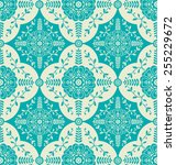 pattern with floral ornamental... | Shutterstock .eps vector #255229672