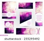 corporate identity design... | Shutterstock .eps vector #255295492