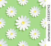 beautiful spring background... | Shutterstock .eps vector #255339742