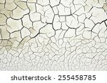 cracked soil  | Shutterstock . vector #255458785