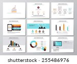 business infographics elements... | Shutterstock .eps vector #255486976