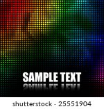 abstract multicolor dots... | Shutterstock .eps vector #25551904