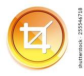 crop button | Shutterstock .eps vector #255546718