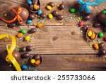 Chocolate Easter Eggs Over...