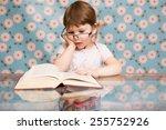 Child  Book Glasses