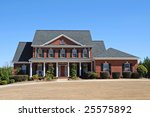 Large New Luxury House - stock photo