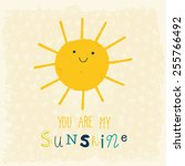 you are my sunshine cute